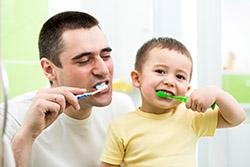 Dr. Malcolm J Boykin promotes healthy family dental hygiene.